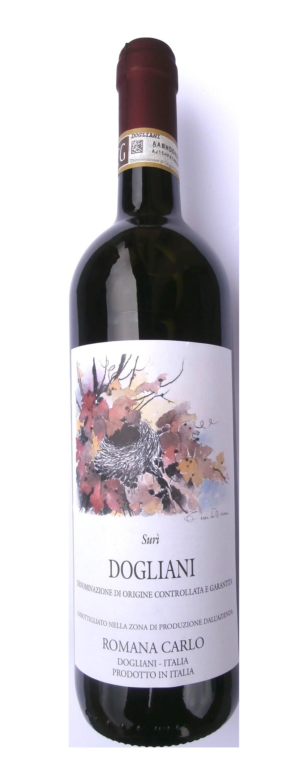 Červené víno Dogliani SURÍ DOCG