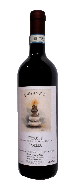 Červené víno Barbera RUMANOTA DOC
