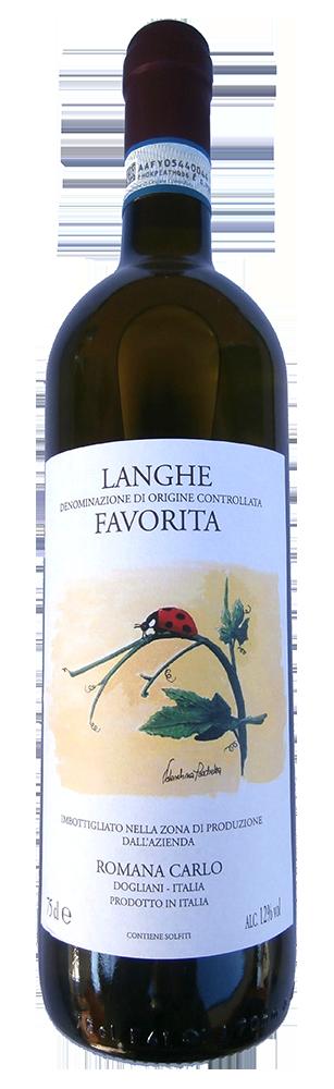 Biele víno Langhe FAVORITA DOC