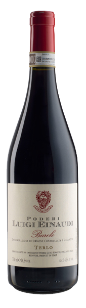 Červené víno BAROLO TERLO DOCG