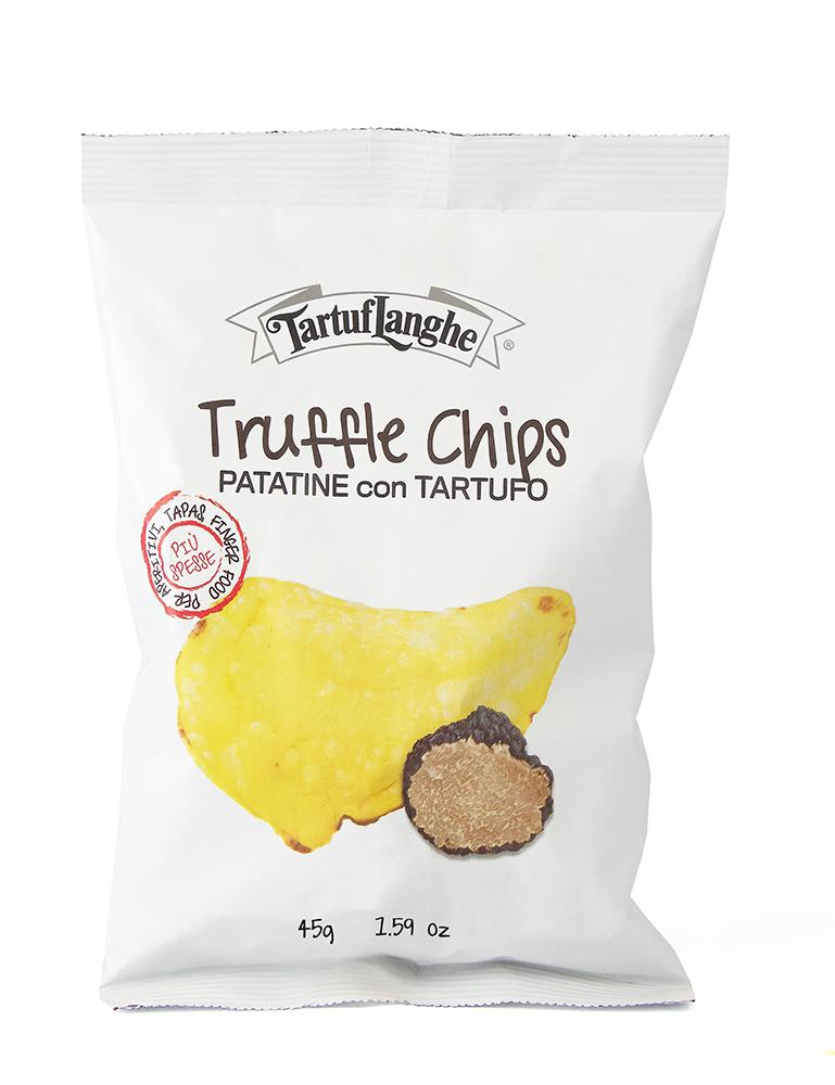 Zemiakové lupienky Chipsy s hľuzovkou