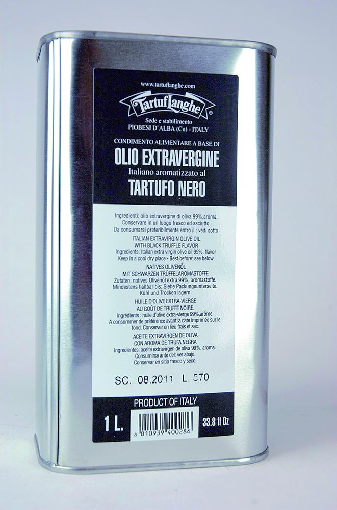 Ochucovadlo potravin extra panenský olivový olej s čiernou hľuzovkou