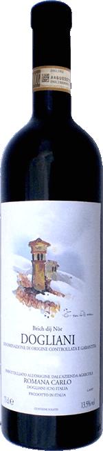 Červené víno Dogliani BRICH DIJ NOR DOCG